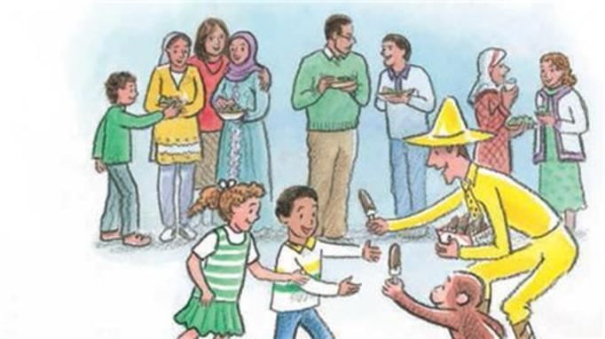 Curious George embraces Ramadan
