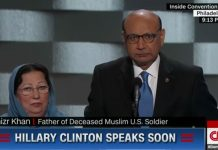 Father of hero calls out Donald Trump