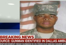 Micah Xavier Johnson is the gunman identified in the Dallas ambush where five police officers lost their lives.
