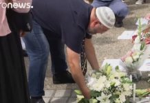 Normandy mosque in mourning: Muslims pays tribute to slain priest