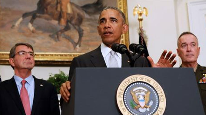 Obama to leave about 8,400 troops in Afghanistan