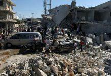 Syria's civil war: Air raids 'kill civilians' in Aleppo