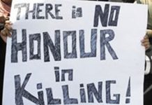 The evil of honor killing is has been on increase in our society and we have failed to nip this evil in the bud.