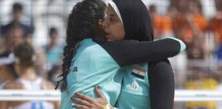 Hello and welcome to the hijabi Olympics