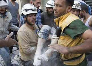 Syria's White Helmets nominated for Nobel Peace Prize