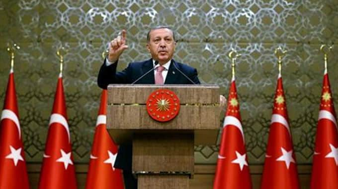 Turkey's Erdogan: The West is taking sides with coups