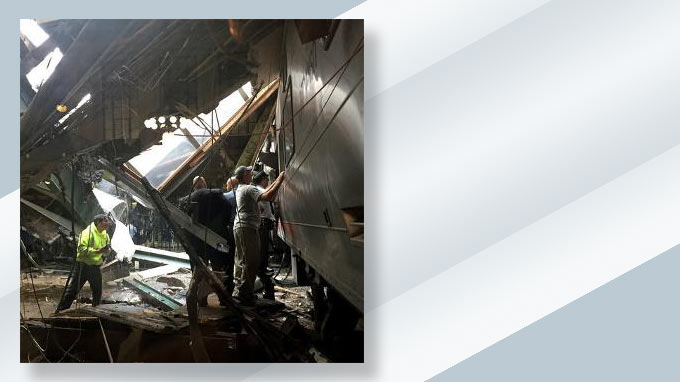 NJ Transit train hit Hoboken station at 'high rate of speed,' Christie says