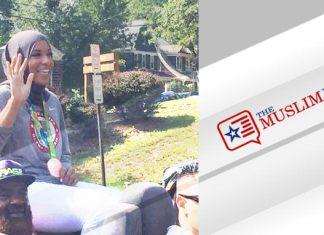 Olympic medalist Ibtihaj Muhammad met with cheers in hometown Maplewood