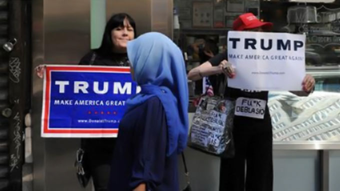 Mixed reaction to Trump from prominent Muslim Americans