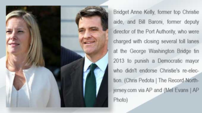 Bridgegate verdict: Bill Baroni and Bridget Kelly guilty on all counts