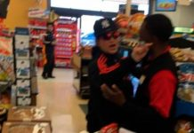 Muslim shopper wearing a hijab harassed by woman at grocery