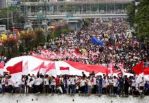 Indonesians rally for unity after blasphemy protests
