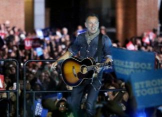 Bruce Springsteen: A Trump presidency makes me afraid