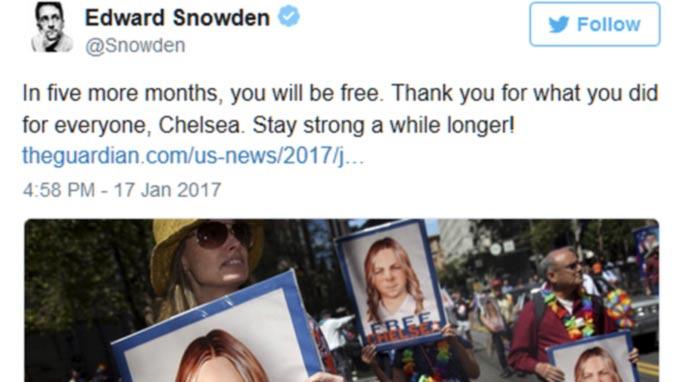 Obama Commutes Chelsea Manning's Sentence, Hundreds Of Others