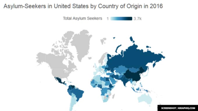 US Bombs Countries Listed In Trump Immigration Ban