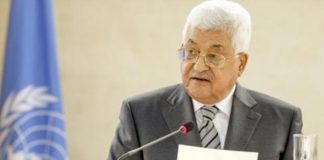 Abbas: Defend two-state-solution for a Palestine state