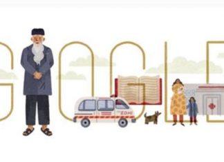 Abdul Sattar Edhi: Google honours 'Angel of Mercy'