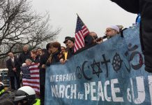 Dozens attend interfaith march for 'peace and decency' in Paterson
