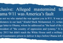 Exclusive: Alleged mastermind tells Obama 9/11 was America's fault