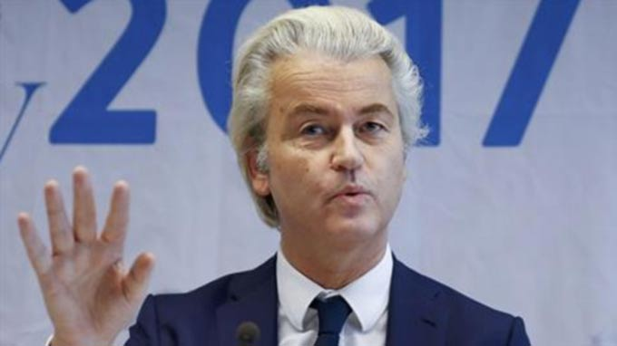 Geert Wilders tweets fake picture of rival