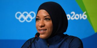 Olympian from N.J. says she was detained by U.S. Customs