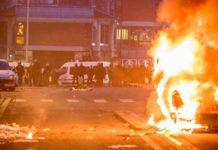 Paris rally over alleged police rape descends into riot
