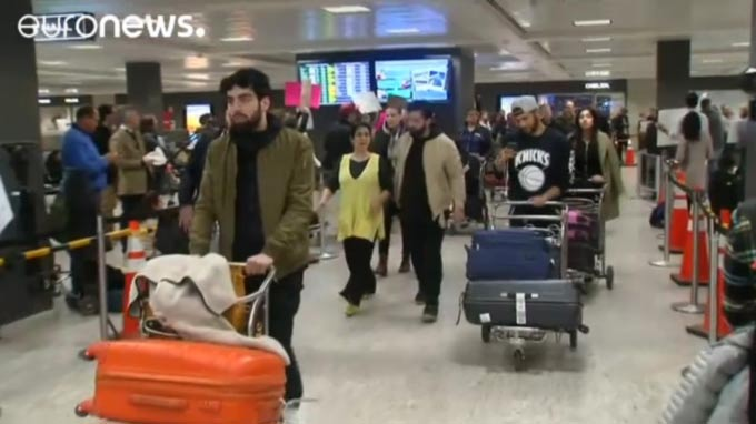 Trump ban hits travel to the United States