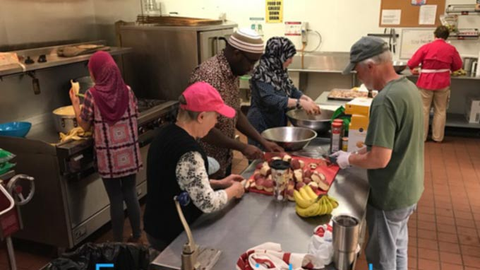 Islamic Center Of Tallahassee (ICT) - Feeding the Homeless