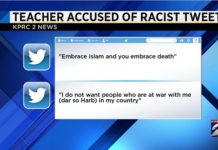 Texas Teacher Under Fire For Anti-Muslim Tweets