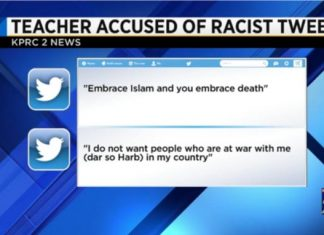 Texas Teacher Under Fire For Anti-Muslim Tweets