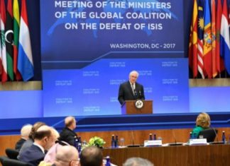 Tillerson: Anti-IS Coalition 'United' in Stopping Terror Group