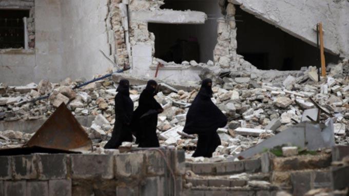 US confirms Idlib air raid but denies targeting mosque