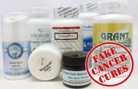 FDA List Of Fraudulent Products Claiming To Treat, Cure Cancer