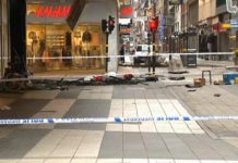 Stockholm attack: Truck driver suspect 'known to security services'