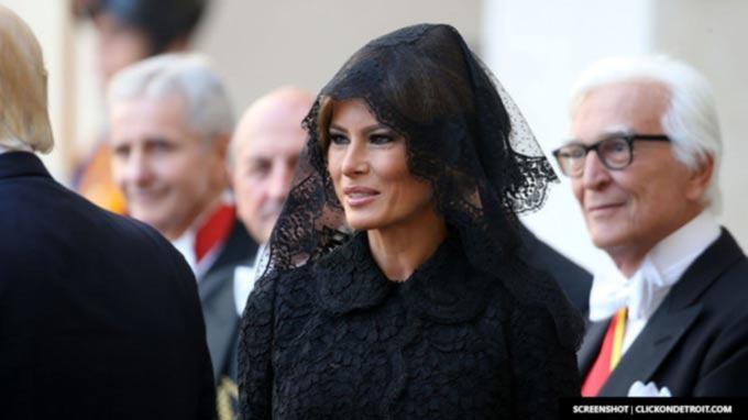 Melania Trump minds Vatican protocol in veil decision