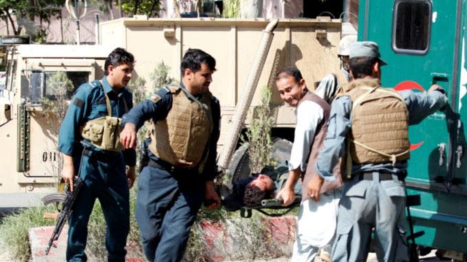 Nearly 100 Afghan Soldiers Killed in a Week