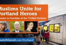 Muslim Groups Raise $500K for Victims of the Portland Attacks