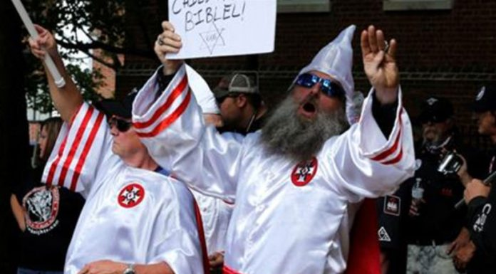 KKK rally in Virginia met with large counterprotest
