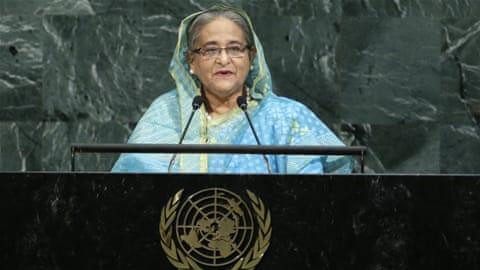 Hasina seeks return of Rohingya refugees to Myanmar