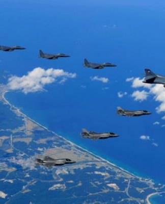 US, Allied Warplanes Stage Live-fire Exercise Over Korean Peninsula