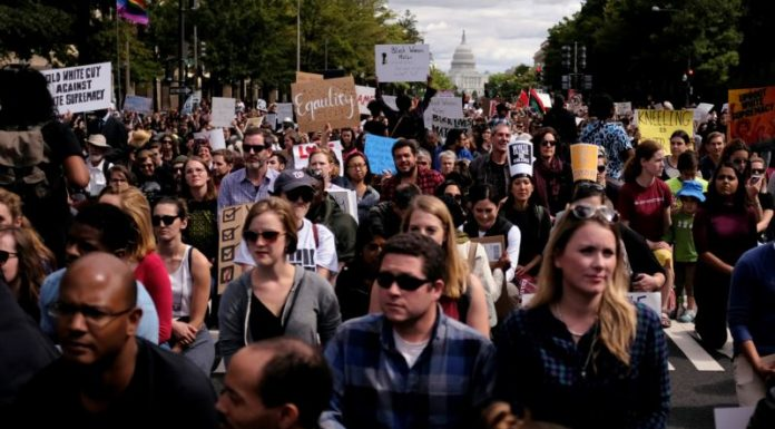 Protesters March Through Washington Streets for Racial Justice