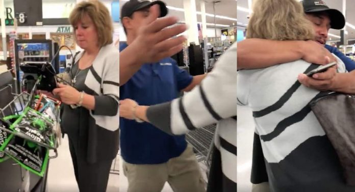 Woman Called 'Angel' After Her Sweet Gesture Was Recorded at Walmart