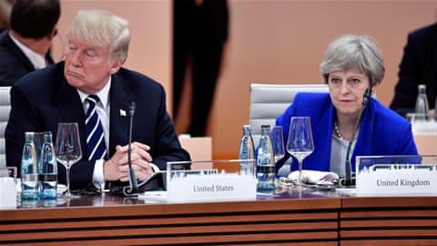 Trump attacks May, defends Britain First tweets