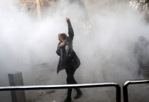A Young Woman and Her Hijab: Symbols of Iran's Unrest