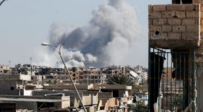 Precision Strikes Kill 150 IS Terrorists in Syria, Coalition Says