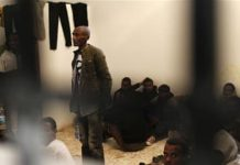 Slavery in Libya: Life inside a container