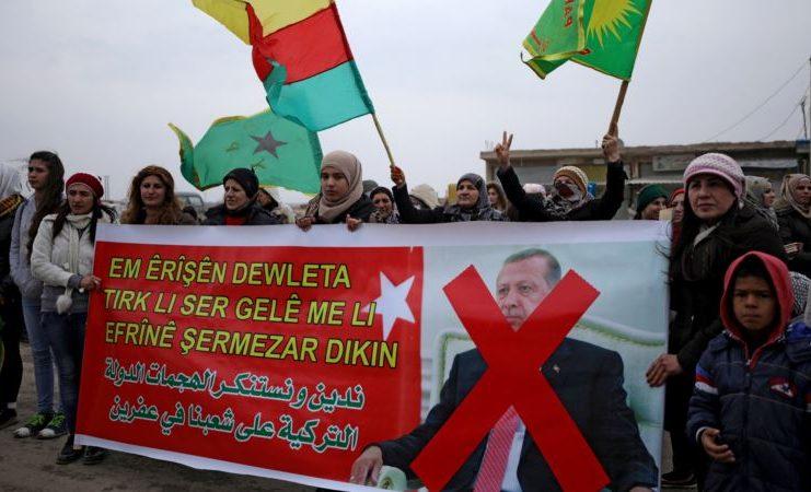 US Criticizes Turkish Shelling of Kurdish-Held Syria Region