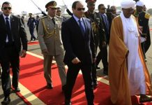 What is going on between Egypt and Sudan?