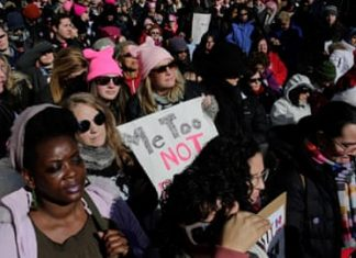 Women's March protests: Thousands rally against Trump