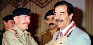 Saddam's eldest daughter Raghad on most wanted list